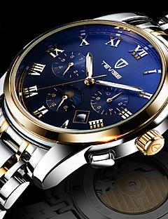 Herrn Sportuhr Kleideruhr Modeuhr Armbanduhr Einzigartige kreative Uhr Armbanduhren für den Alltag Chinesisch Quartz Kalender Wasserdicht