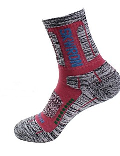 Fietsen/Wielrennen Sokken/Fietssokken Houd Warm Anatomisch ontwerp Beschermend Spandex Katoen ChinlonYoga Hardlopen Wielrennen Wandelen