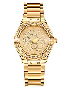 Dame Barn Selskapsklokke Moteklokke Armbåndsur Unike kreative Watch Hverdagsklokke Simulert Diamant Klokke Kinesisk QuartzVannavvisende