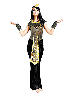 Queen Egyptian Costumes Cosplay Cleopatra Cosplay Costumes Party Costume Masquerade Female Halloween Carnival Festival / Holiday