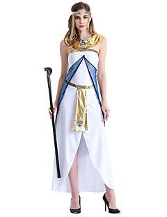 billige Halloweenkostymer-Eventyr Romerske Kostymer Gudinne Cosplay Cosplay Kostumer Party-kostyme Dame Halloween Karneval Festival / høytid Halloween-kostymer