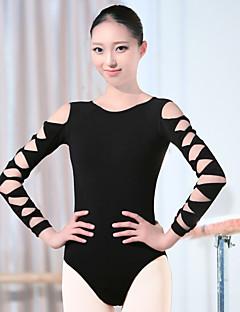 zullen we ballet leotards vrouwen trainings spandex 1 stuk lange mouw hoog