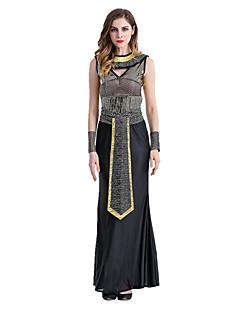 billige Voksenkostymer-Egyptiske Kostymer Queen Cleopatra Cosplay Kostumer Party-kostyme Dame Halloween Karneval Festival / høytid Halloween-kostymer Vintage