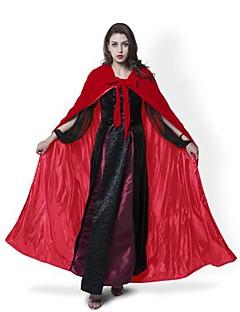 Tovenaar/Heks Spook Vampieren Cosplay Jas Cosplay Kostuums Mantel Heksenbezem Hallloween figuren Feestkostuum Gemaskerd Bal Niet