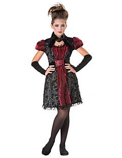 billige Voksenkostymer-Vampyrer / Cosplay Cosplay Kostumer / Maskerade Jente Halloween / Karneval Festival / høytid Halloween-kostymer Annen / Vintage