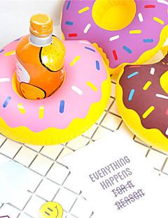 Χαμηλού Κόστους Πρωτότυπα Είδη για Ποτά-φουσκωτό κάτοχος φλυτζανιών φλυτζανιών πλωτό σουβέρ ποτό ποτό κάτοχοι πισίνα προμήθειες