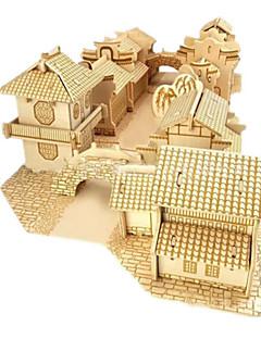 DIY 키트 3D퍼즐 직쏘 퍼즐 장난감 유명한 빌딩 집 건축 3D 남여 공용 남자아이 조각