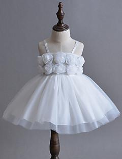 Baby Kjole Blomst Polyester Sommer