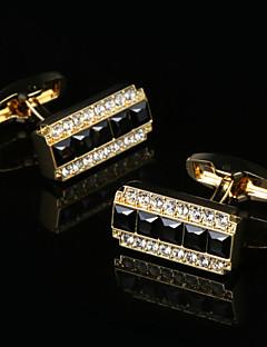Χαμηλού Κόστους Σμόκιν και κοστούμια-Geometric Shape Χρυσαφί Butoni Κλασσικό / Δώρο Κουτιά & Τσάντες / Μοντέρνα Ανδρικά Κοστούμια Κοσμήματα Για Πάρτι / Δουλειά / Τελετή /