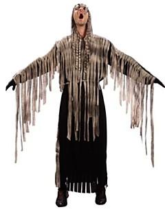 billige Voksenkostymer-Skjelett/Kranium Zombie Cosplay Cosplay Kostumer Mann Unisex Halloween Karneval De dødes dag Festival/høytid Halloween-kostymer Vintage