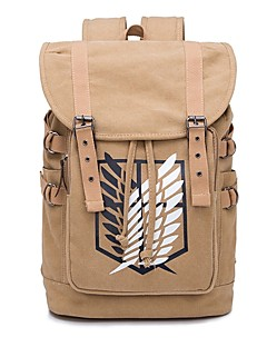 Tas geinspireerd door Attack on Titan Bertolt Huber Anime Cosplayaccessoires Canvas