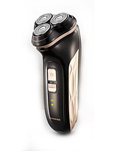 Elektriske barbermaskiner Damer og Herrer Ansikt 220V Vannavvisende Slim design Håndholdt design Lett og praktisk Stille og dempe Lav lyd