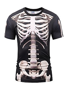 Skeleton / Skull Cosplay Cosplay Costumes Male Unisex Halloween Carnival Day of the Dead Festival / Holiday Halloween Costumes Vintage