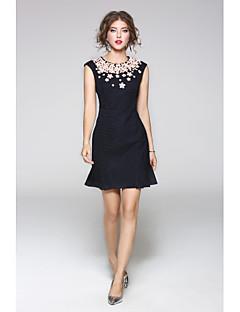 Χαμηλού Κόστους JOJO HANS-Γυναικεία Θήκη Φόρεμα - Μονόχρωμο, Στάμπα