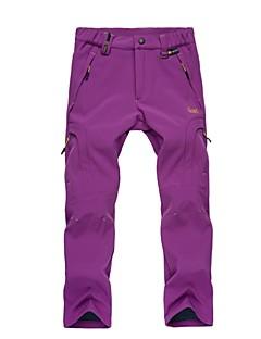 tanie Turystyczne spodnie i szorty-Damskie Turistické kalhoty Na wolnym powietrzu Keep Warm Wiatroodporna Zdatny do noszenia Rozciągliwe Oddychalność Zima Spodnie