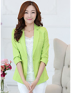 Women's Going out Simple Spring Fall Vest,Color Block V Neck Sleeveless Regular Others