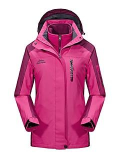 baratos Jaquetas Softshell, de Lã ou de Trilha-Mulheres Jaqueta para Ciclismo Ao ar livre Inverno A Prova de Vento Á Prova-de-Chuva Vestível Respirabilidade Jaqueta de Inverno Jaquetas