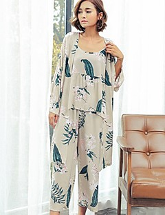 cheap Pajamas-Women's Suits Pajamas - Print, Animal