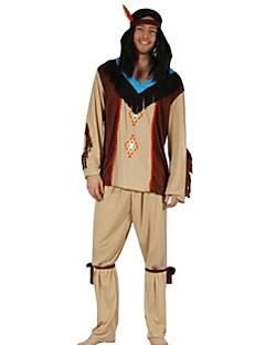 Etnisk/Spirituell Drakter Mann Halloween Jul Festival / høytid Halloween-kostymer Lapper