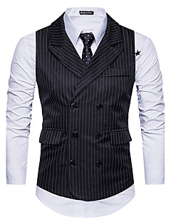 Men's Going out Casual/Daily Casual Fall Winter Vest