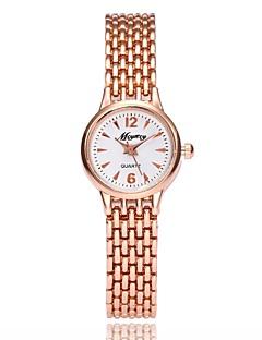 billige Armbåndsure-Dame Quartz Armbåndsur Kinesisk Metal Legering Bånd Afslappet Elegant Sølv Rose Guld