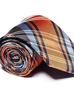 Herre Vintage Fest Kontor Fritid Slips,Alle årstider Stripet Polyester