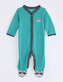 お買い得  赤ちゃんウェア-赤ちゃん カジュアル/普段着 ストライプ コットン ワンピース 秋 長袖