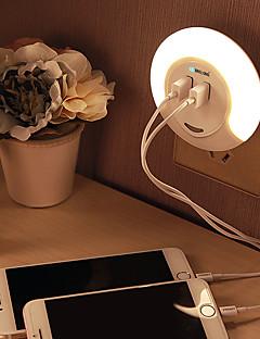 baratos Luzes de presente-BRELONG® 1 Pça. Wall Light Nightlight Branco Recarregável Controle de luz Fácil de Transportar