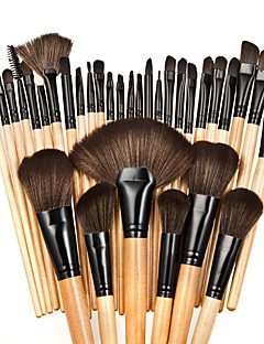 cheap Makeup Brushes-32pcs Professional Makeup Brushes Makeup Brush Set / Foundation Brush / Powder Brush Nylon Cute / Full Coverage Beech Wood / Aluminium