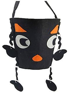 billige Halloweenkostymer-Spøkelse Monstere Gresskar Bagger og vesker Halloween Festival / høytid Halloween-kostymer Svart Mote