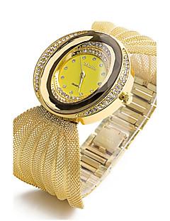 Dame Barn Moteklokke Armbåndsur Simulert Diamant Klokke Kinesisk Quartz Imitasjon Diamant Legering Band Glitrende Bohemsk Vedhend Armband