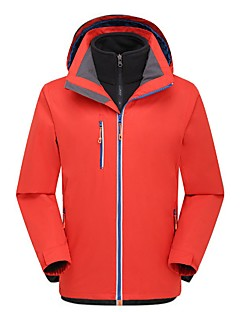 Men's Hiking 3-in-1 Jackets Outdoor Low-friction Breathability Winter Dress Hunting Fishing Hiking Camping