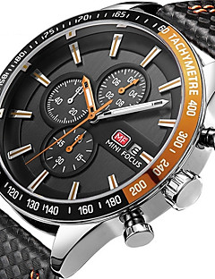 Men's Kid's Sport Watch Fashion Watch Casual Watch Chinese Quartz Calendar / date / day Chronograph Water Resistant / Water Proof Leather