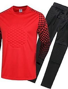 Unisex Fotbal Vrchní část oděvu Sportovní Jaro/podzim Jednobarevné Bavlna Fotbal