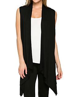 tanie Swetry damskie-Damskie Vintage Kwadratowy dekolt Długi Rozpinany Jendolity kolor Bez rękawów