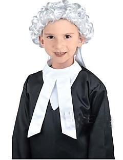 Flere Kostymer Bluse/Skjorte Cosplay Parykker Barn Halloween Jul Karneval Barnas Dag Festival/høytid Halloween-kostymer Svart Helfarve