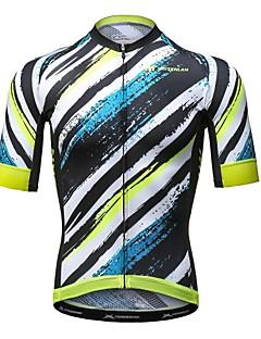 Mysenlan サイクリングジャージー 男性用 半袖 バイク ジャージー 速乾性 ポリエステル ファッション 夏 マウンテンサイクリング ロードバイク レクリエーションサイクリング サイクリング