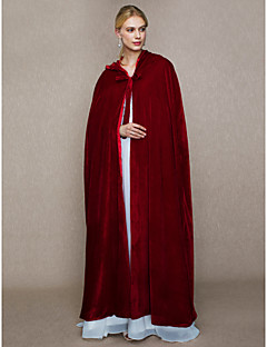 Tekoturkis Häät Juhlat Lyhyt naisten takki With Suojus Solmittavat Viitat