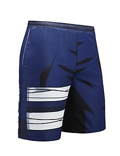 billige Herrebukser og -shorts-Herre Aktiv Punk & Gotisk Gatemote Løstsittende Shorts Bukser - Trykt mønster