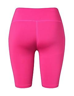 billiga Träning-, jogging- och yogakläder-Dam Ficka Yogashorts - Blå, Rosa, Grå sporter Shorts Sportkläder Fitness, Löpning & Yoga Elastisk