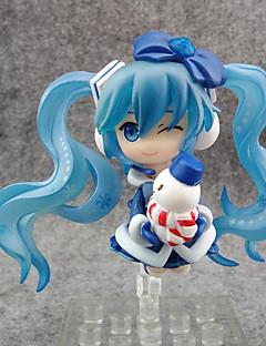 Anime Action Figurer Inspirert av Vokaloid Snow Miku PVC 7 CM Modell Leker Dukke
