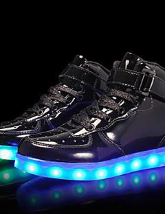 Χαμηλού Κόστους -Αγορίστικα Παπούτσια Λουστρίν / Προσαρμοσμένα Υλικά Φθινόπωρο Ανατομικό / Φωτιζόμενα παπούτσια Αθλητικά Παπούτσια Κορδόνια / Γάντζος &