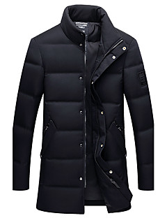コート メンズ,カジュアル/普段着 ソリッド コットン コート/ジャケット 長袖