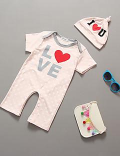 ieftine Îmbrăcăminte La Modă De Copii-Bebelus O - piesă Dungi Bumbac Vară Manșon Scurt