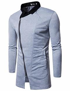 お買い得  メンズジャケット&コート-男性用 パーティー ジャケット シャツカラー カラーブロック