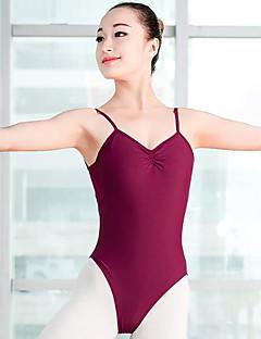 tanie Stroje baletowe-Balet Damskie Wydajność Spandeks Bez rękawów Naturalny Trykot opinający ciało / Śpiochy dla dorosłych