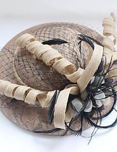 Damen Hut Traditionell/Vintage Schick & Modern Elegant & Luxuriös Hochzeit Frühling/Herbst Winter Baumwolle Fischerhut,Solide
