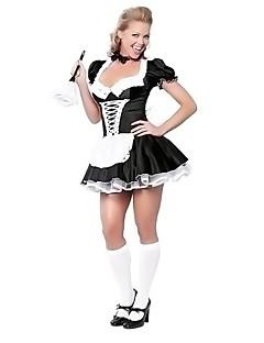 Hizmetçi Elbiseleri Tek-parça Elbiseler Cosplay Kostümleri Kadın Yılbaşı Cadılar Bayramı Karnaval Festival / Tatil Cadılar Bayramı