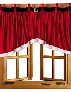 1本92 * 160 * 77cm美しいドアの窓ドレープパネルクリスマスカーテン