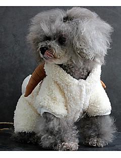 abordables -Chien Costume Vêtements pour Chien Décontracté / Quotidien Solide Blanc Gris Marron Costume Pour les animaux domestiques